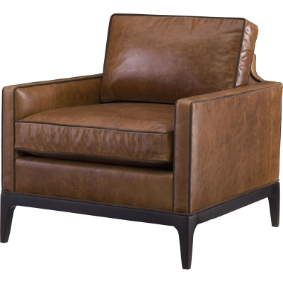 Wesley Hall Lewis Leather Chair