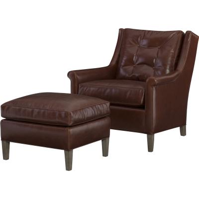 Wesley Hall Etta Leather Chair