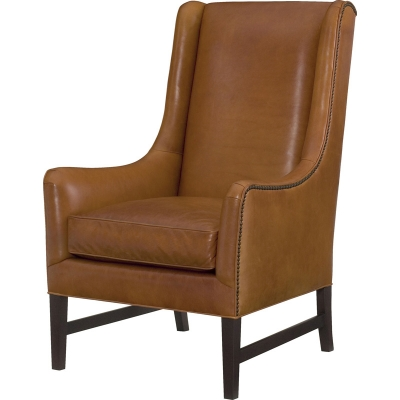 Wesley Hall Pimlico Leather Chair