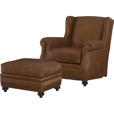 Wesley Hall Aspen Leather Chair