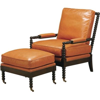 Wesley Hall Marshall Leather Chair