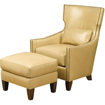 Wesley Hall Tribeca Leather Chair