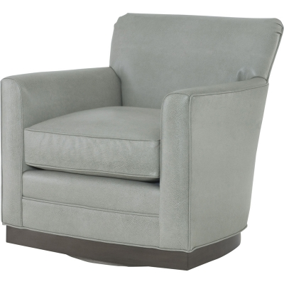 Wesley Hall Stewart Leather Swivel Chair