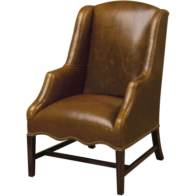 Wesley Hall Chelsea Leather Chair