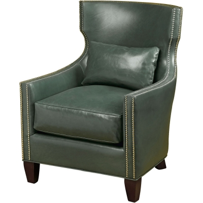Wesley Hall Luna Leather Chair