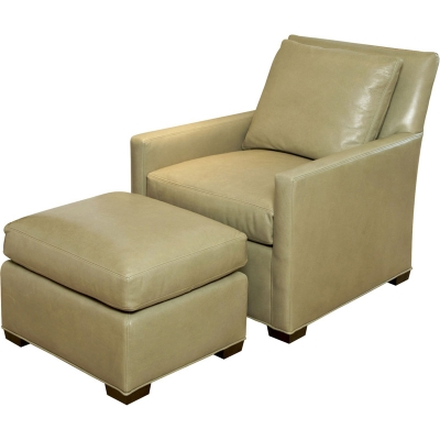 Wesley Hall Grayson Leather Chair