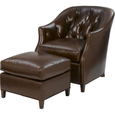Wesley Hall Beckett Leather Chair