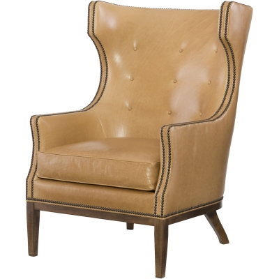Wesley Hall Scout Leather Chair