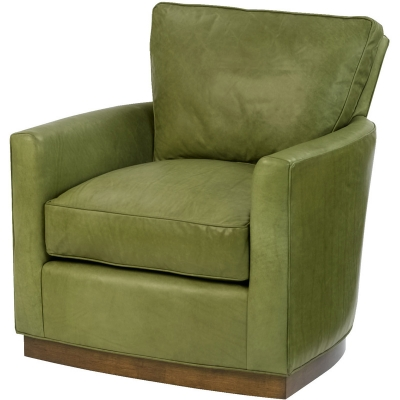 Wesley Hall Freemont Leather Swivel Chair