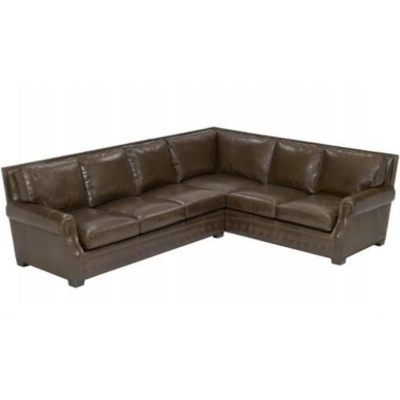 Wesley Hall Leather Sectional
