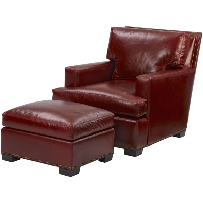 Wesley Hall Montgomery Leather Chair