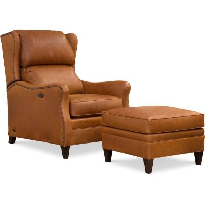 Wesley Hall Tilt Back Chair Leather
