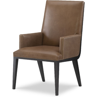Wesley Hall Leather Arm Chair