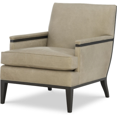 Wesley Hall Leather Chair