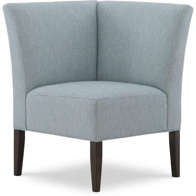 Wesley Hall Corner Leather Chair