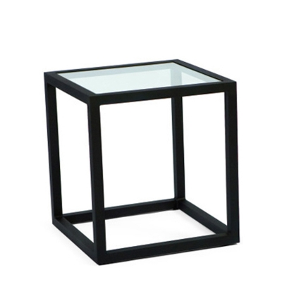 Woodard End Table Clear Glass