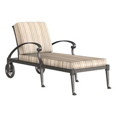 Woodard Adjustable Chaise Lounge Stackable