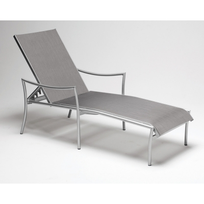 Woodard 2c0470 Dominica Sling Adjustable Chaise Lounge