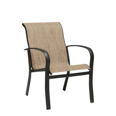 Woodard Dining Arm Chair - Stackable