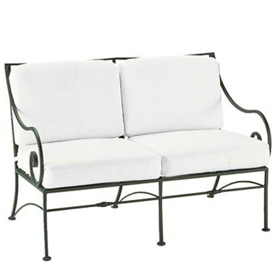Woodard 3c0019 Sheffield Loveseat With Cushions Discount