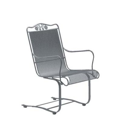 Woodard High-Back Spring Base Chair