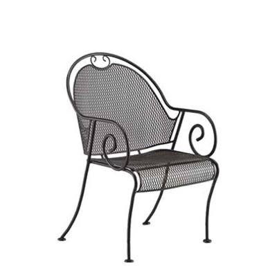 Woodard Barrel Dining Arm Chair