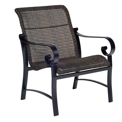 Woodard Round Weave Lounge Chair