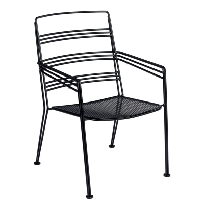 Woodard Dining Arm Chair Stackable
