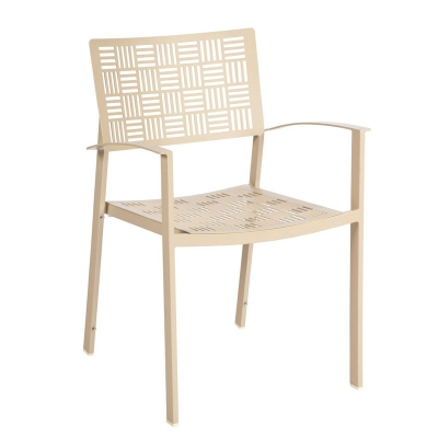 Woodard Dining Arm Chair Stacking