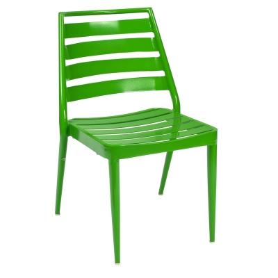 Woodard Slat Dining Chair Stackable