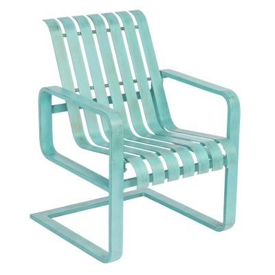 Woodard Spring Dining Arm Chair