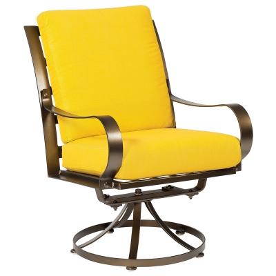 Woodard Swivel Dining Arm Chair