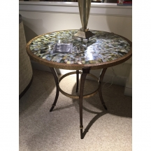 Sonoma Round End Table Marge Carson