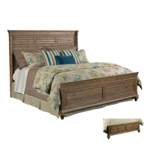 Weatherford Shelter Bed Cal King Heather Kincaid