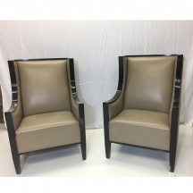 Luxe II Chair Dream Taupe Hancock and Moore