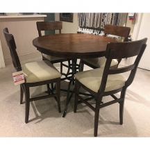 The Nook Oak Counter Height Side Chair Kincaid