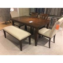 The Nook Maple 60 inch Rectangular Leg Dining Table Kincaid
