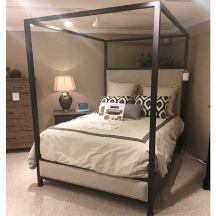 Plank Road Shelley Canopy Queen Bed Complete Kincaid