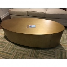 Oval Cocktail Table Schnadig