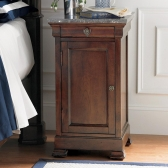 Bedside Cabinet with Marble Top