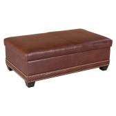 Classic Leather 55 40 Wt Larsen Cocktail Ottoman Discount