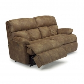 Flexsteel 3098 Sect Triton Leather Reclining Sectional