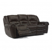 Flexsteel 1210 Sectp Crosstown Leather Power Reclining