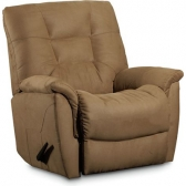 Lane recliner furniture shop discount outlet at hickory for Belle hide a chaise high leg recliner