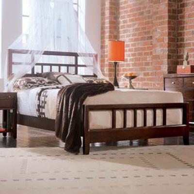 American Drew Slat Bed