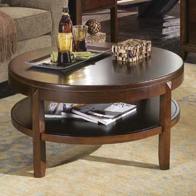 American Drew Round Cocktail Table