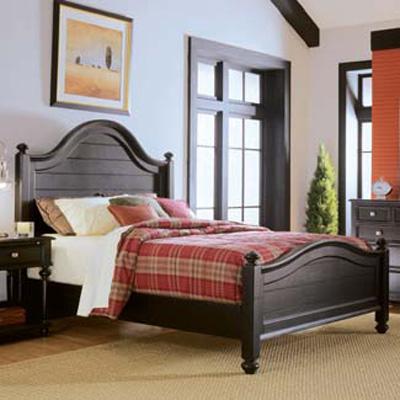 American Drew Panel Bed