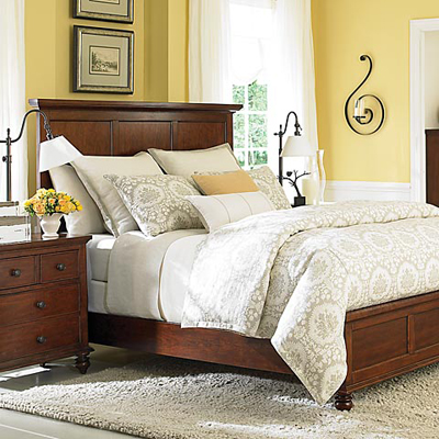 Warrenton collection bassett furniture discount Master bedroom with grey furniture