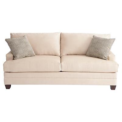 bassett 3850 72l cu 2 sofa discount furniture at hickory. Black Bedroom Furniture Sets. Home Design Ideas