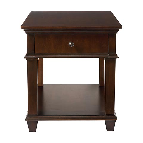 Bassett 62120665 EOS End Table Discount Furniture at Hickory Park